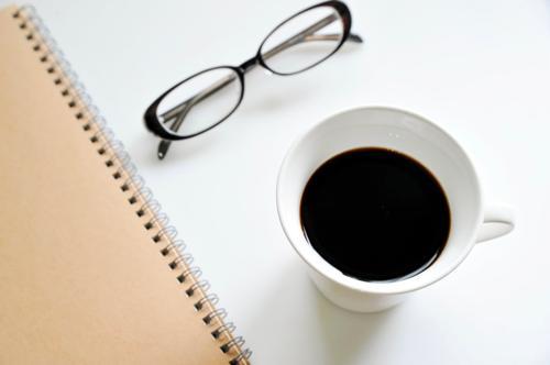 コーヒーとめがね
